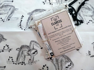 Load image into Gallery viewer, ECO GIFT WRAPS (Sloth Tea Towel)