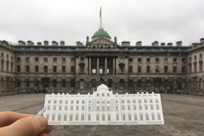 Bespoke bookmark for somerset house