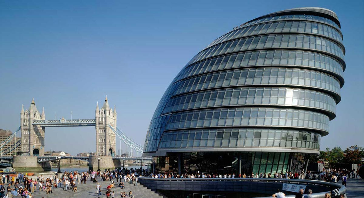 London City Hall Architecture history