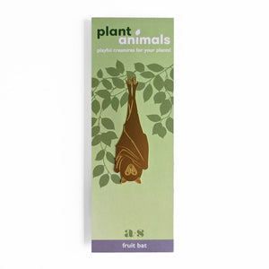 Bat plant animal ornament for houseplants
