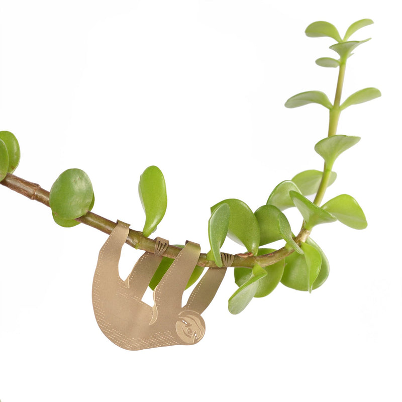 Sloth plant animal decoration for houseplants