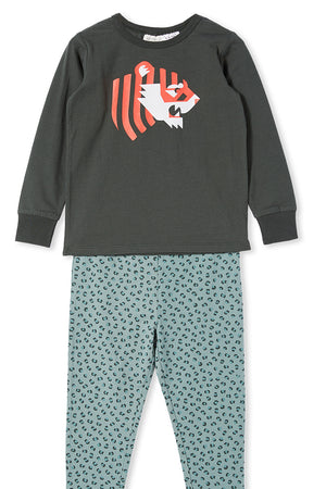 Milky Junior Boys PJs Tiger