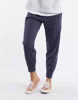 Elm Fundamentals Pant Wash Out Lounge Navy