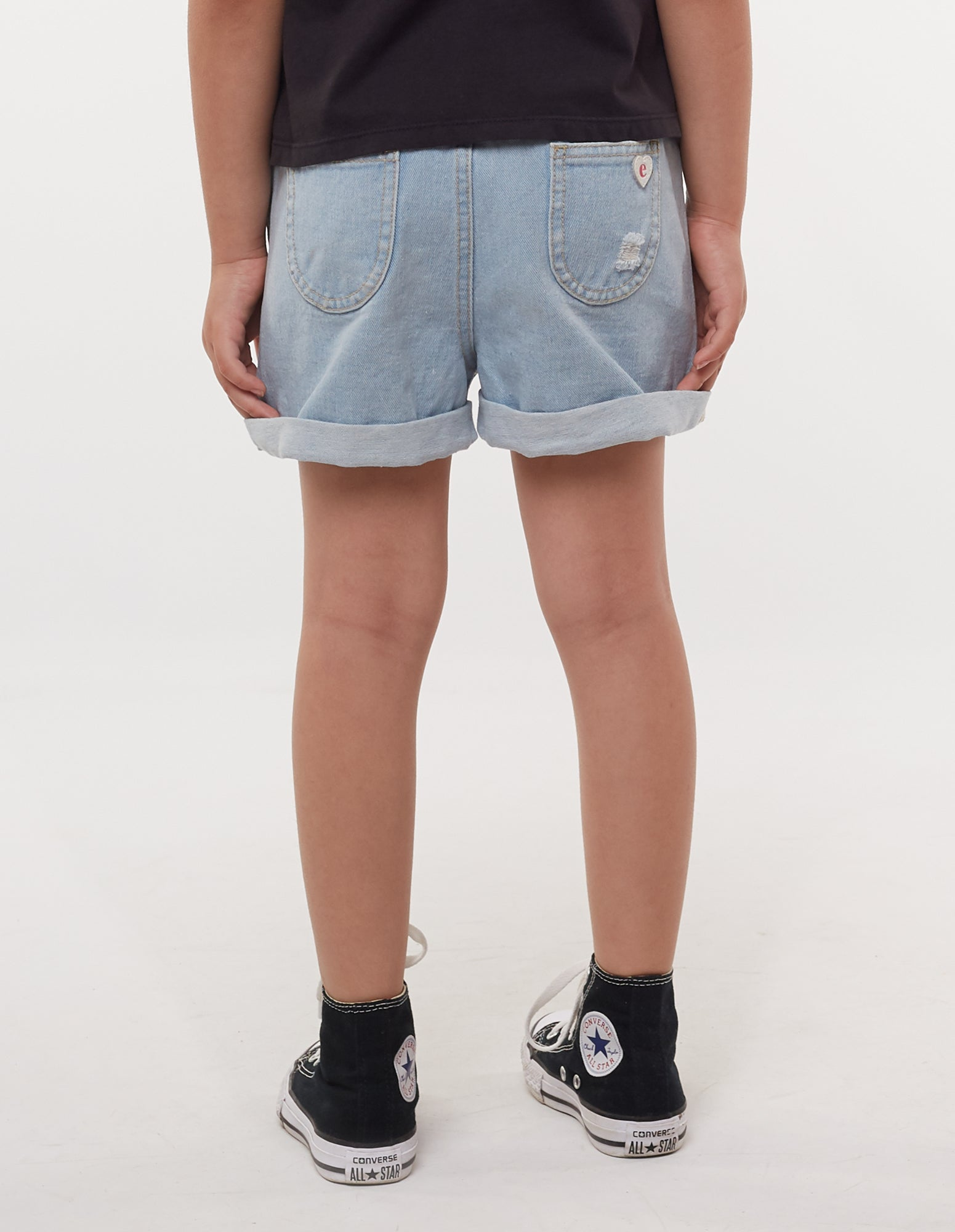 Eve's Sister Junior Girls Short Blair Denim