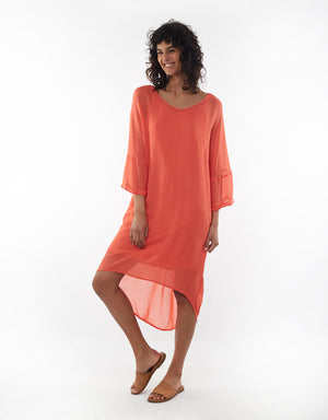 Elm Dress Margo Melon