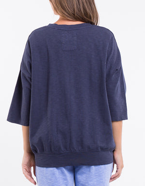 Elm Fundamentals Sweat Mazie Navy