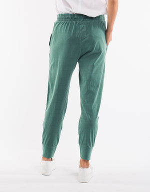 Elm Fundamentals Pant Wash Out Lounge Sage Green
