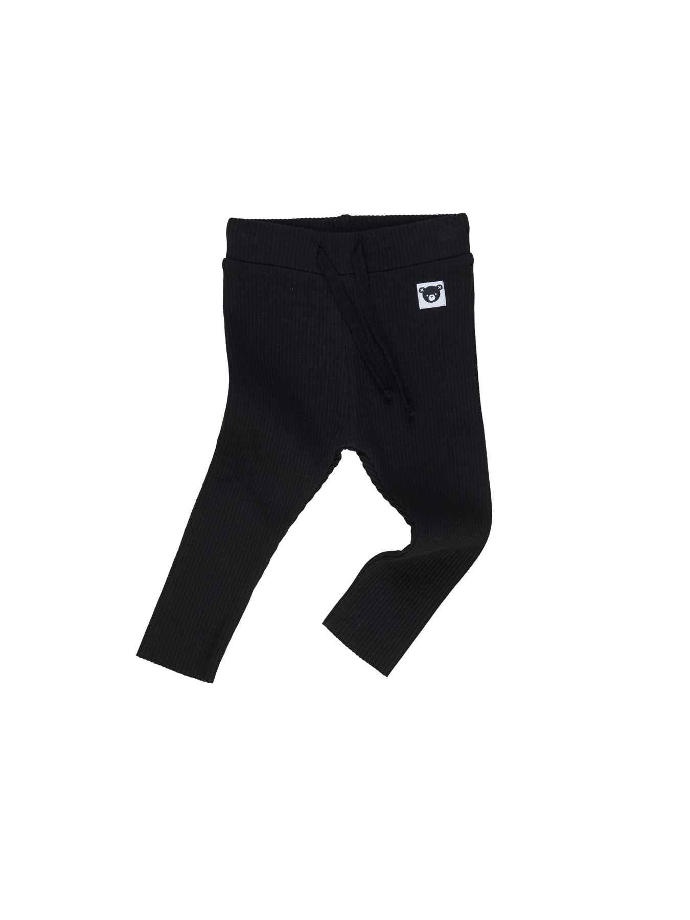 Huxbaby Legging Rib Black