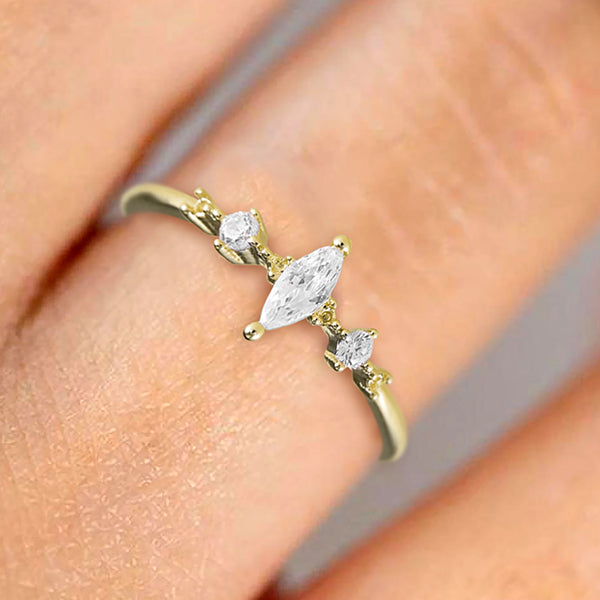 The Classic Marquise Ring