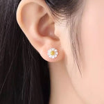 The Darling Daisy Earrings