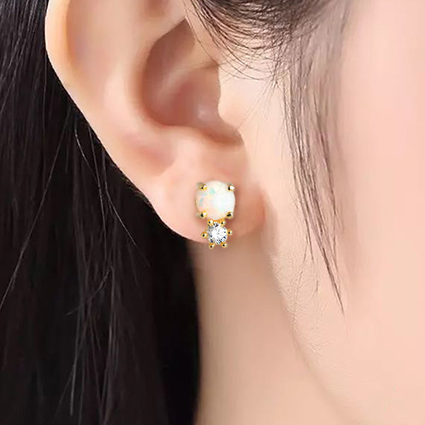 The Opal Chalice Earrings