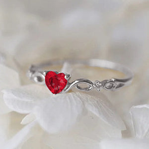 The Glowing Heart Ring