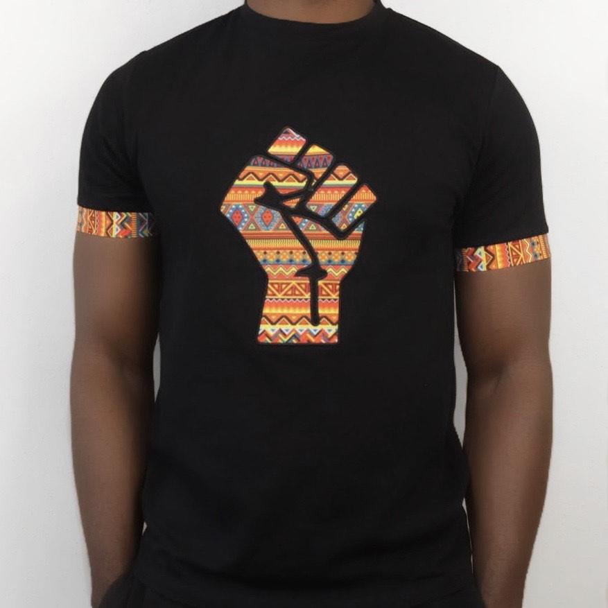 UJIMA CREW NECK TEE - BLACK