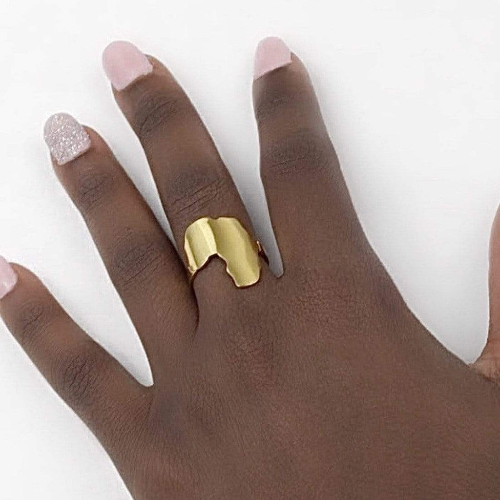 10 Pieces - AFRIQ RING I (Wholesale)