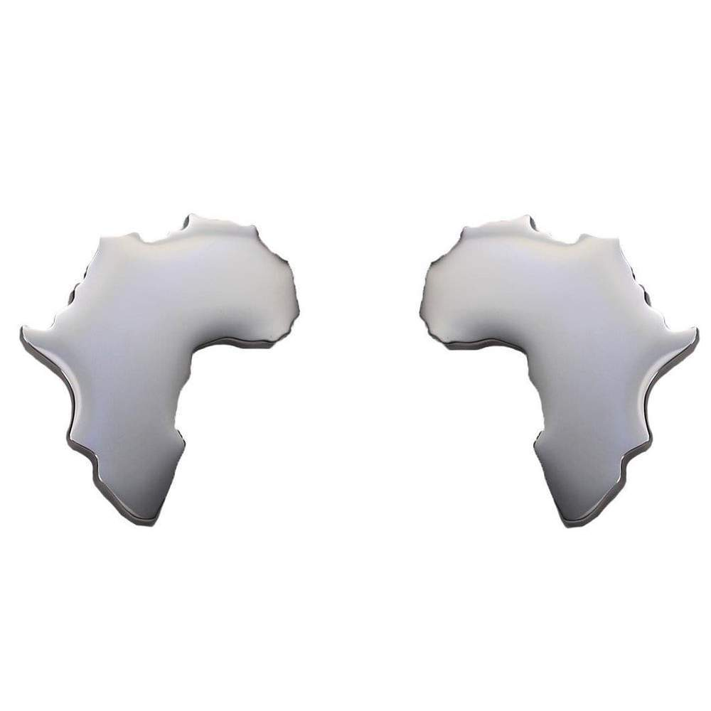 africa map earring