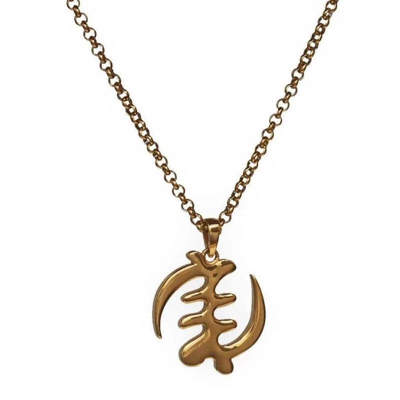 gold adinkra jewelry