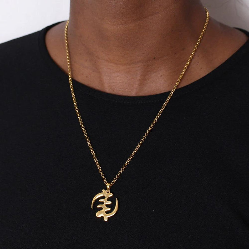 womens afrocentric necklace