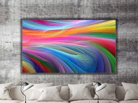 Multicoloured Art Canvas Print