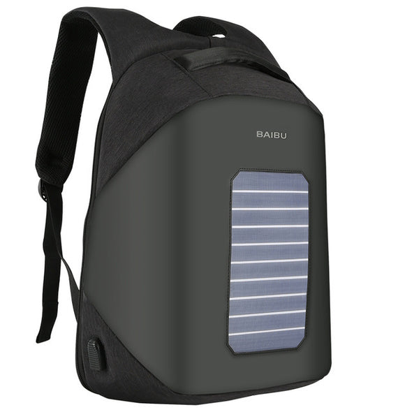 Solar Powered USB Backpack - multimegastore.com