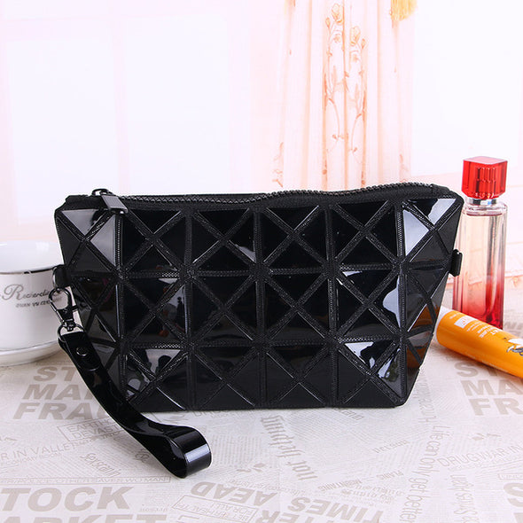 Women Cosmetic Toiletry Bag Women Fashion PU Leather - multimegastore.com