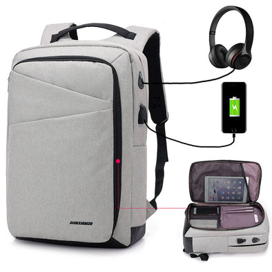 USB- Waterproof Laptop Backpack - multimegastore.com