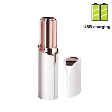 Facial Hair Removal for Women Lipstick Razor USB Charging - multimegastore.com