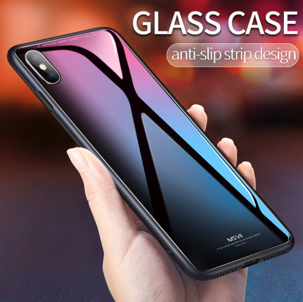 Vivo X21 Limited Edition Glass Back Silicone Cover