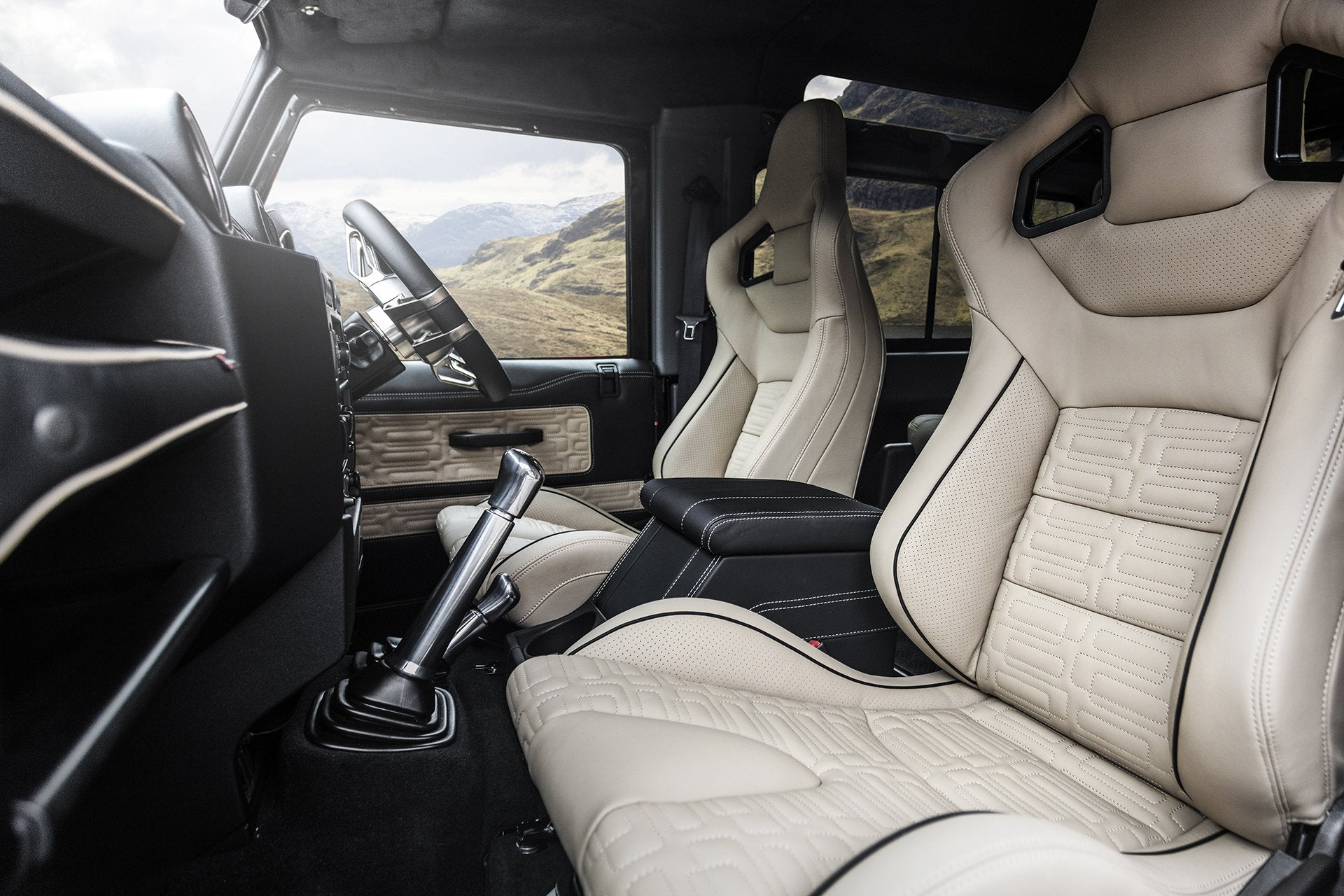 Land Rover Defender 90 (1991-2016) Leather Interior by Chelsea Truck Company - Image 1540