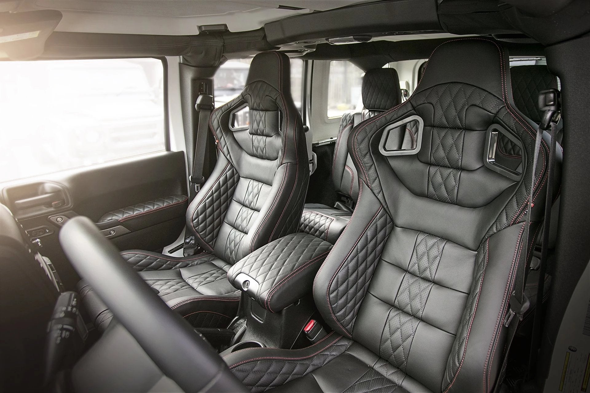 Jeep Wrangler Jk (2011-2018) 4 Door Leather Interior by Chelsea Truck Company - Image 1382