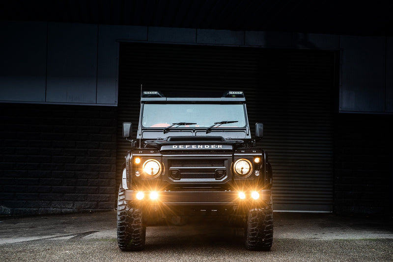 Land Rover Defender 110 (1991-2016) Front Bumper With Lights by Chelsea Truck Company - Image 2456