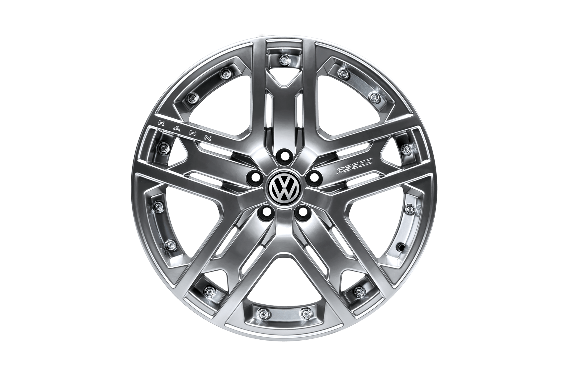 Volkswagen T5 (2003-2015) Rs600 Light Alloy Wheels by Kahn - Image 3065