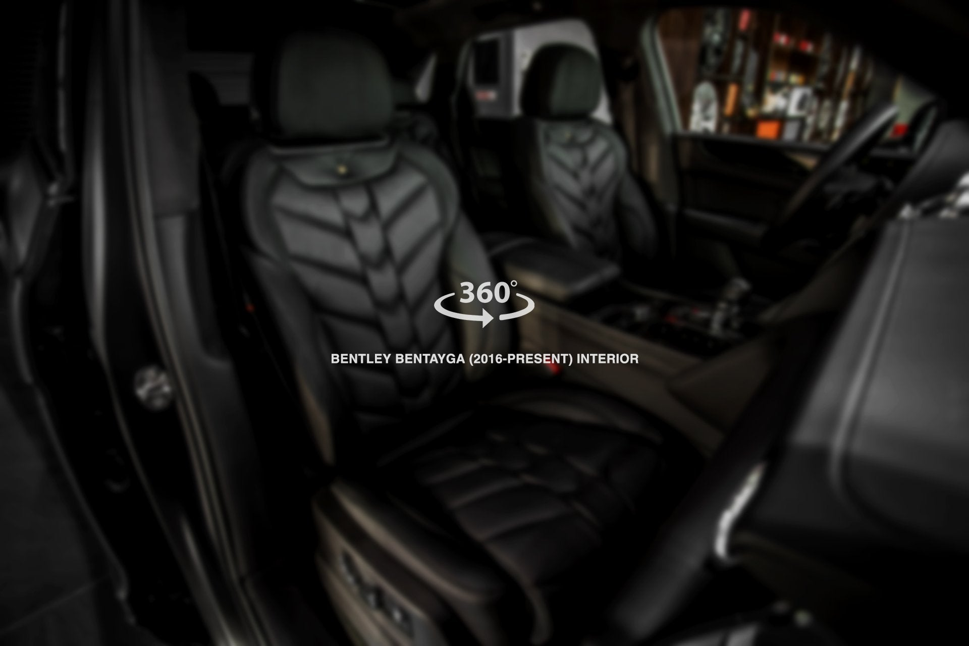 Bentley Bentayga (2016-Present) comfort Interior - 5 Seats