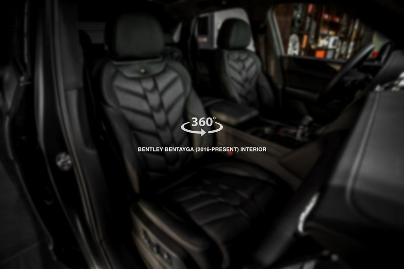 Bentley Bentayga (2016-Present) Comfort Interior - 5 Seats by Kahn - Image 2797