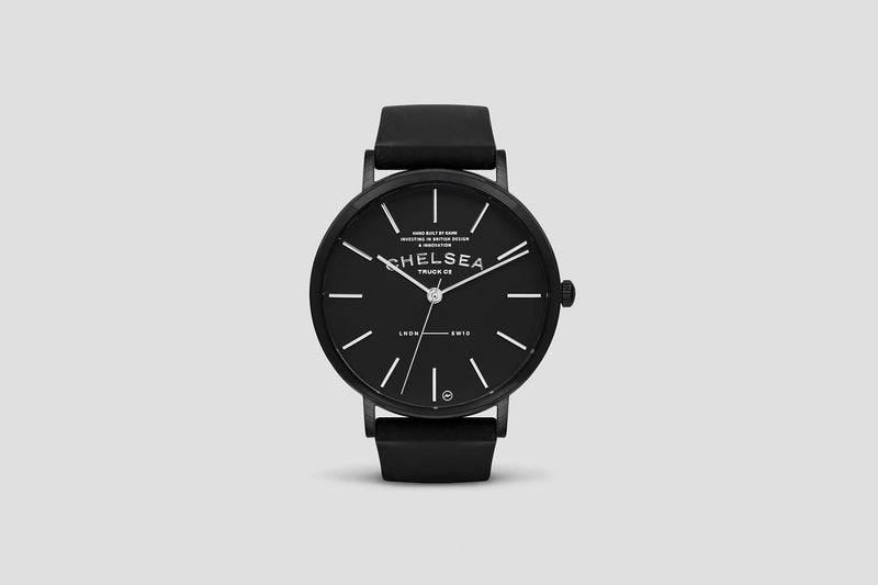 Classic Noir Watch by Chelsea Truck Company - Image 4203