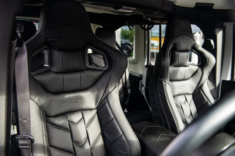 Jeep Wrangler Jk (2011-2018) 2 Door Leather Interior by Chelsea Truck Company - Image 1381