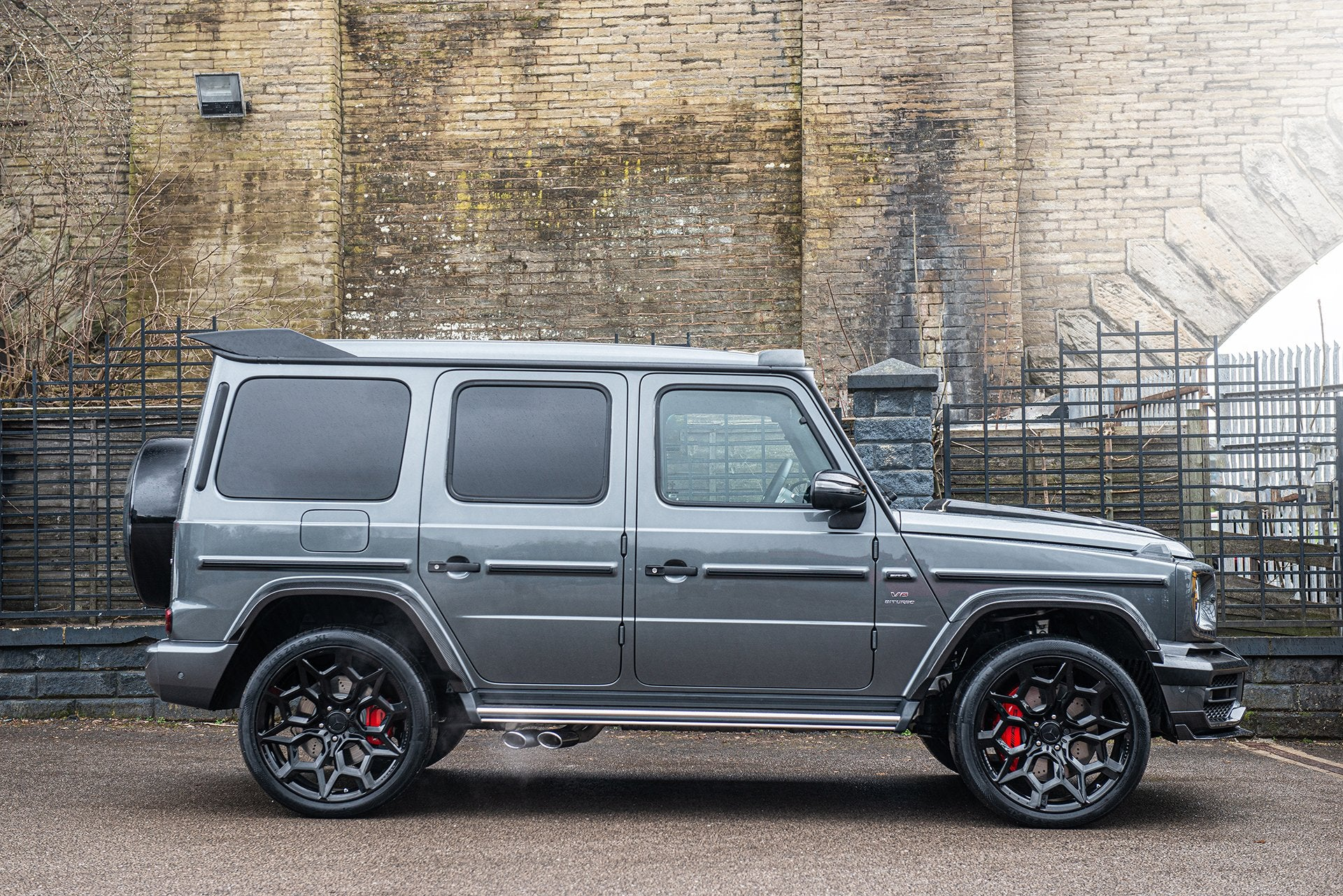 MERCEDES G-WAGON (2018-PRESENT) G63 AMG EXPOSED CARBON WHEEL ARCHES