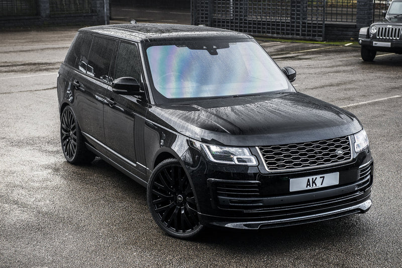 Range Rover (2018-Present) Exposed Carbon Front Bumper Valance Package by Kahn - Image 2685