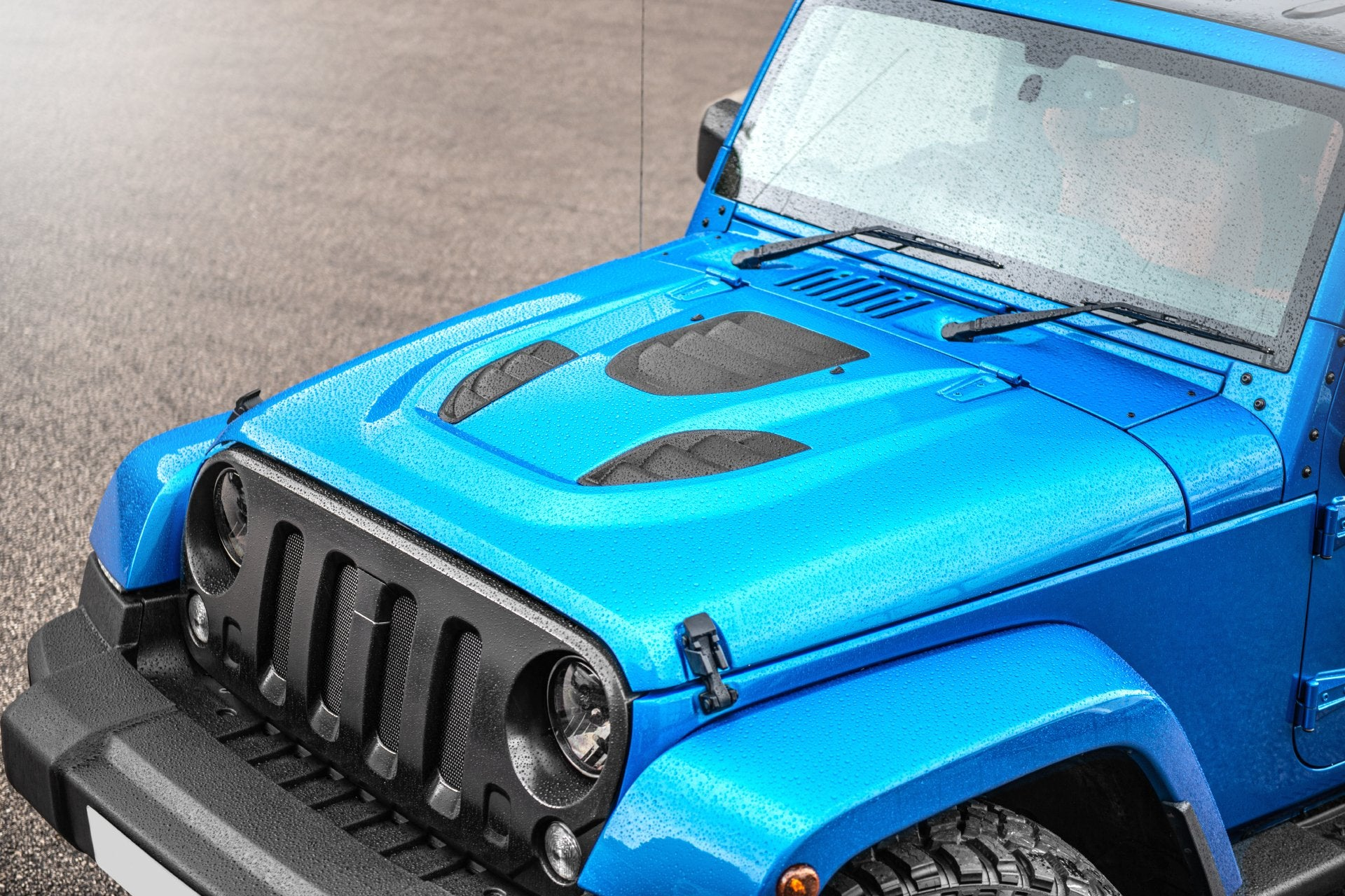 JEEP WRANGLER jk (2007-2018) Expedition Iron Man Vented Bonnet - Project Kahn
