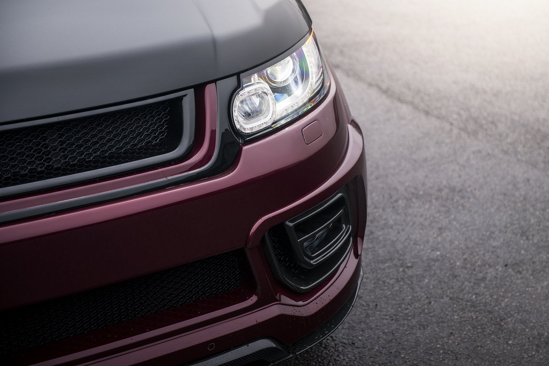 Range Rover Sport (2013-2018) Vented Front Grille by Kahn - Image 2237