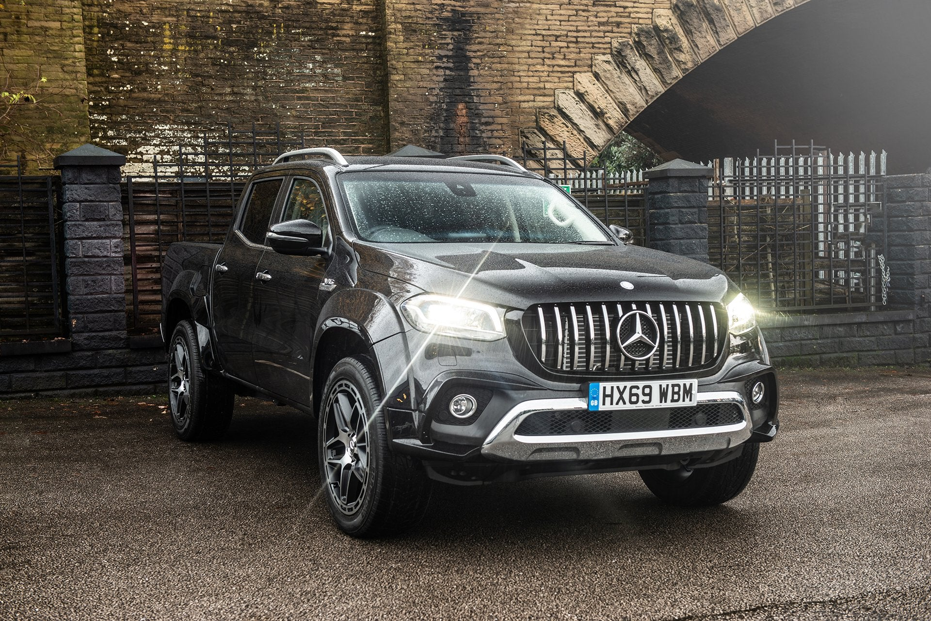 Mercedes X-Class (2019-Present) Wide Track Exterior Body Styling Pack by Kahn - Image 2865