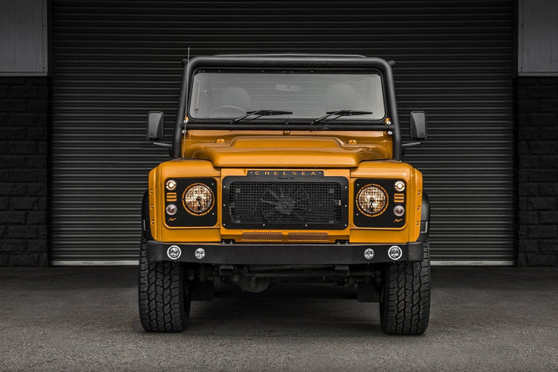 Land Rover Defender 90 (1991-2016) Front Grille With Stainless Steel Mesh by Chelsea Truck Company - Image 2750