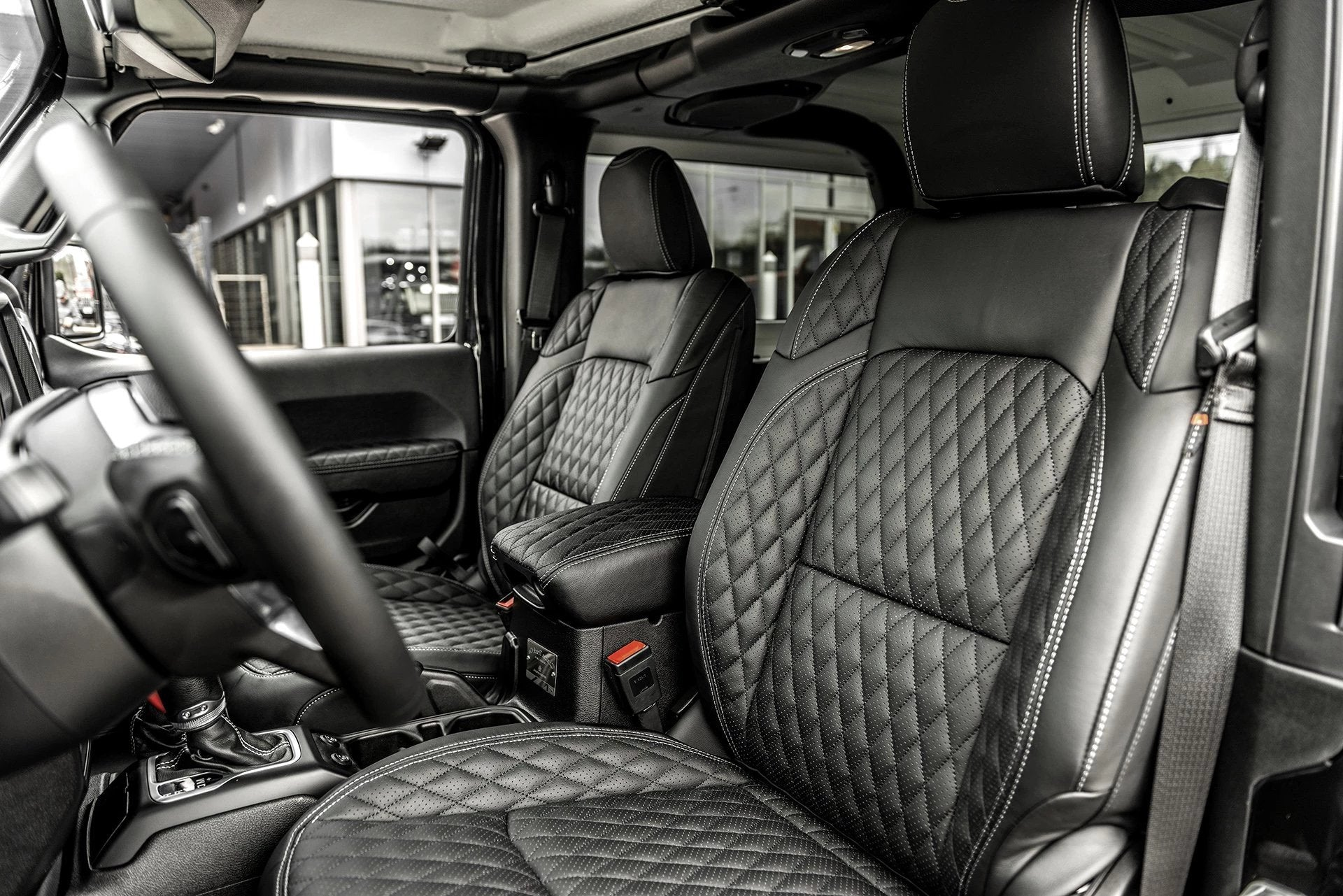 Jeep Wrangler Jl (2018-Present) 2 Door Leather Interior by Chelsea Truck Company - Image 1304