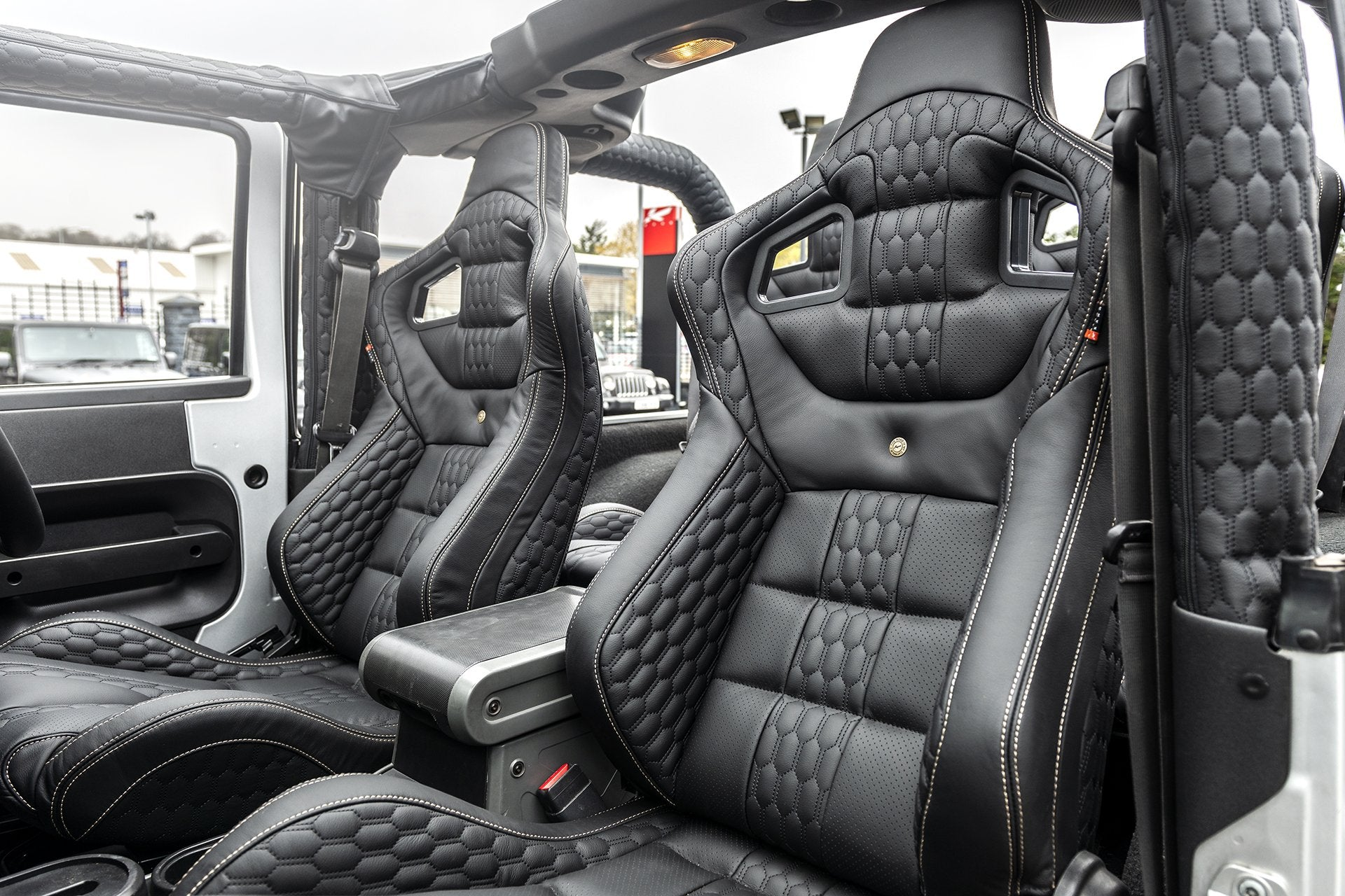 Jeep Wrangler Jk (2007-2018) 2 Door Leather Interior by Chelsea Truck Company - Image 1439
