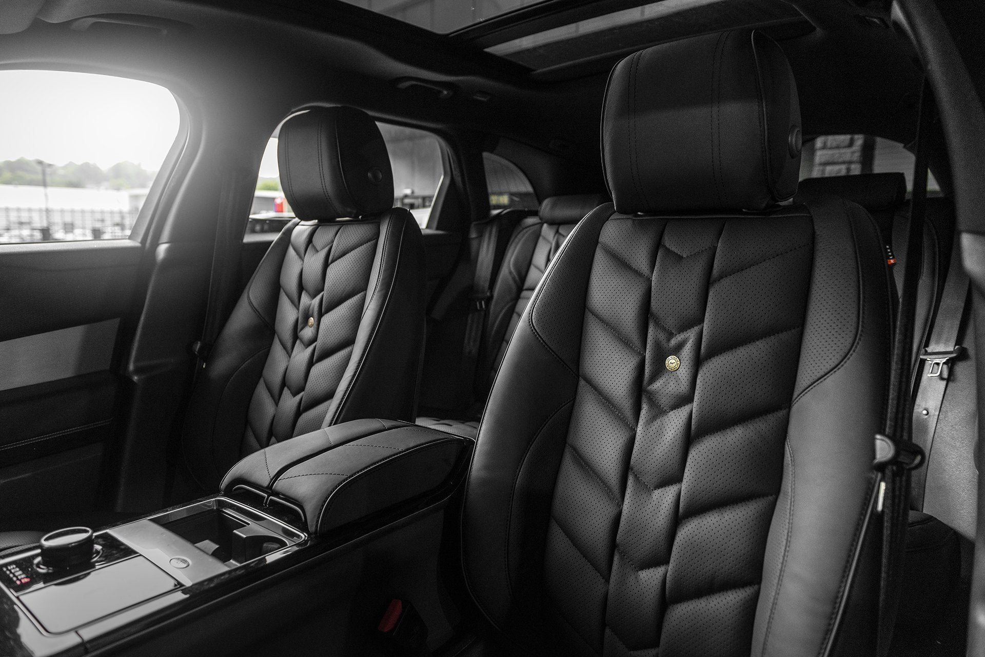 Range Rover Velar (2017-Present) Leather Interior by Kahn - Image 1697