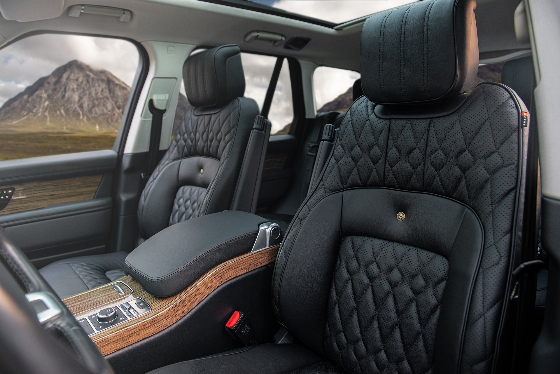 Range Rover (2018-Present) Leather Interior