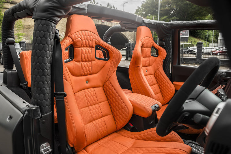 Jeep Wrangler Jk (2011-2018) 2 Door Leather Interior by Chelsea Truck Company - Image 1373