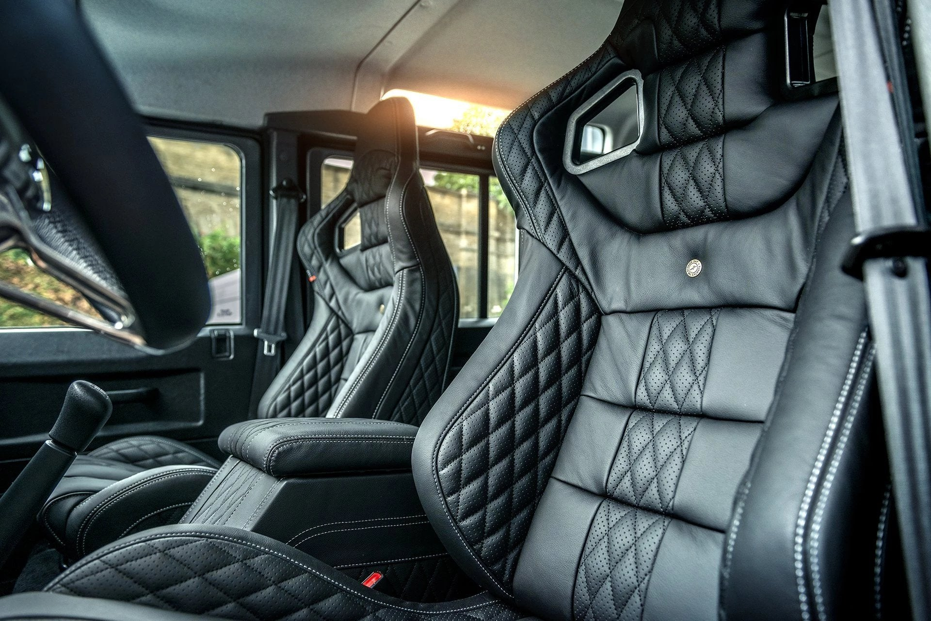 Land Rover Defender 110 (1991-2016) Leather Interior by Chelsea Truck Company - Image 1496