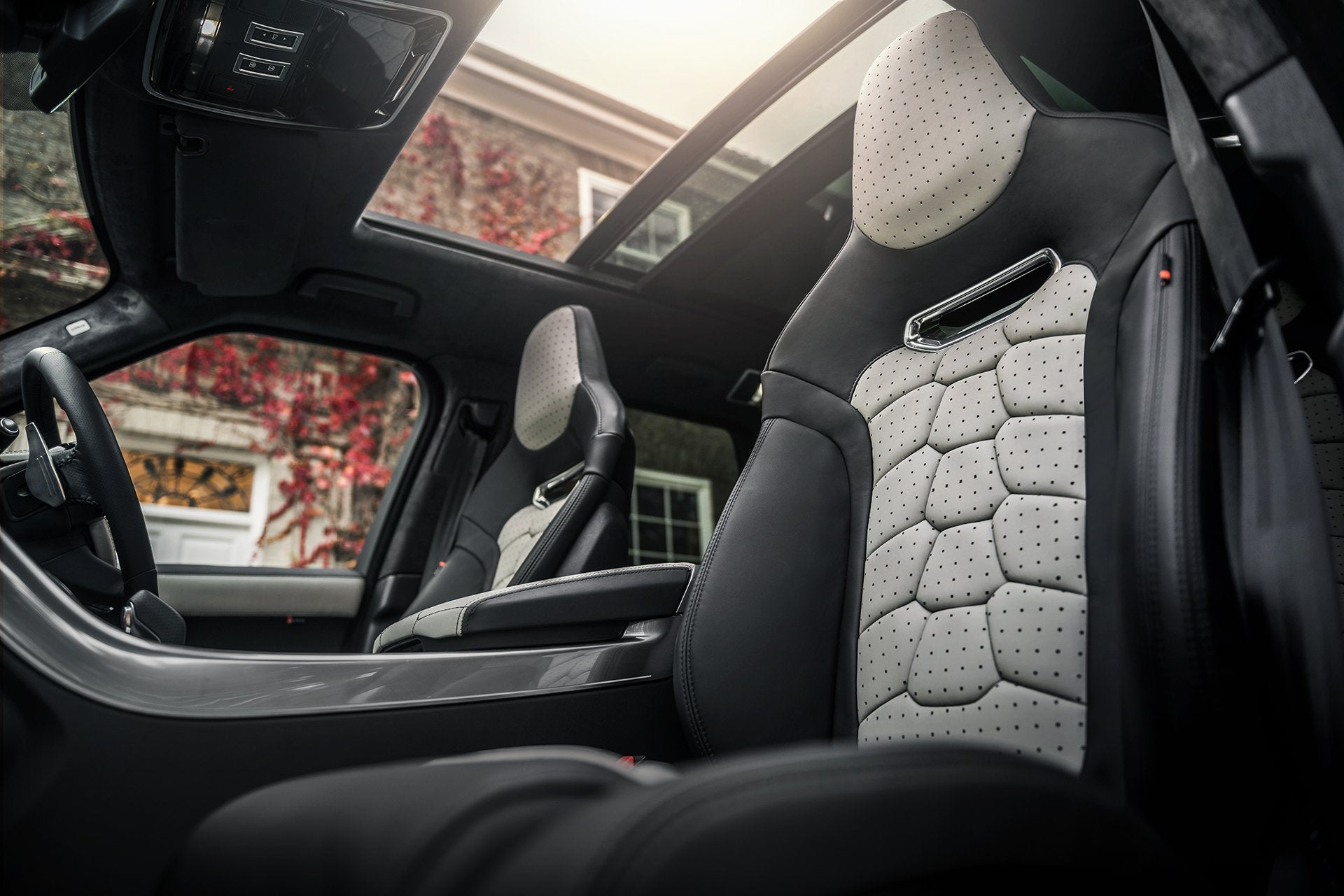 Range Rover Sport Svr (2018-Present) Leather Interior by Kahn - Image 1821