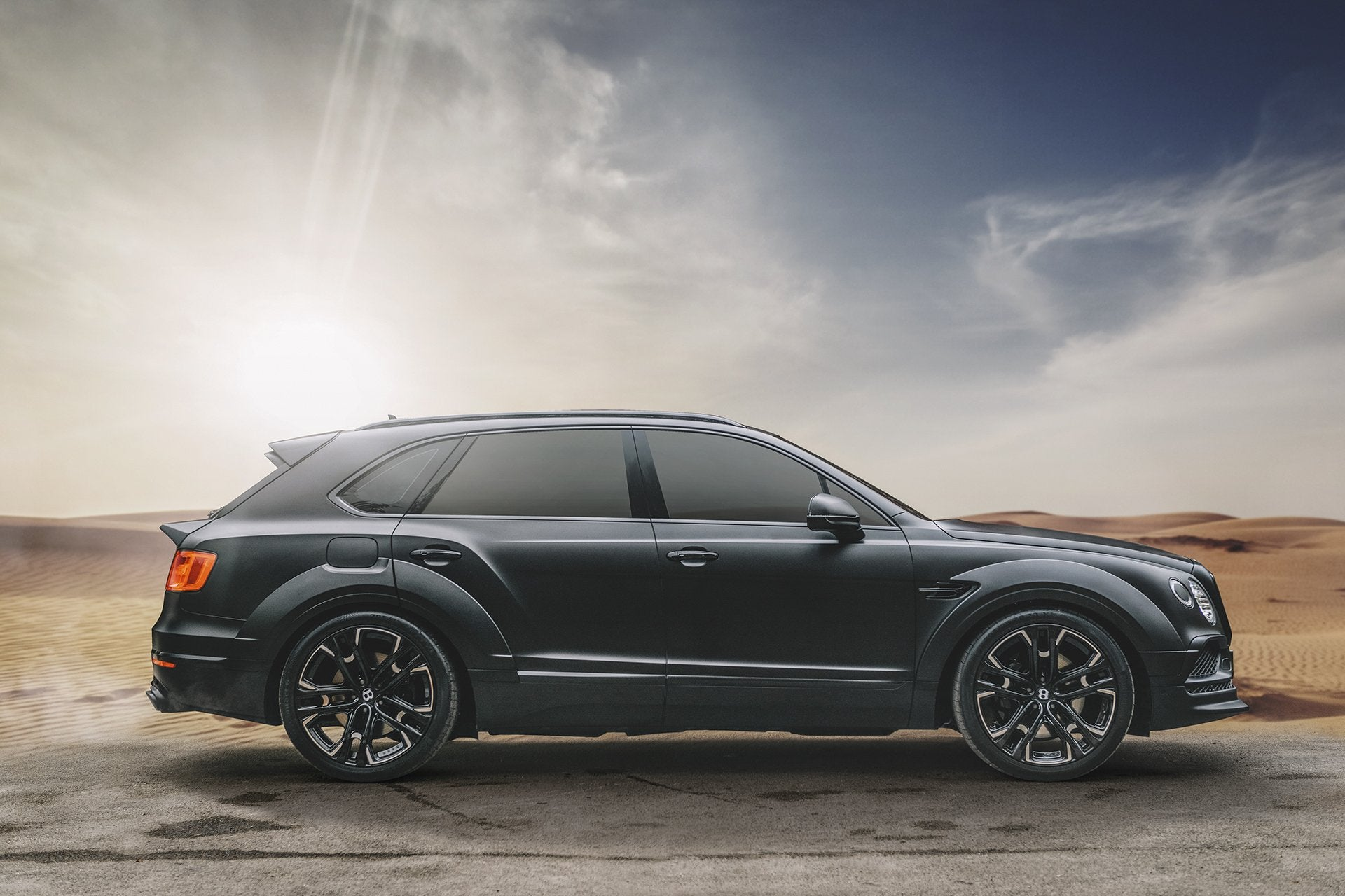 BENTLEY BENTAYGA (2016-2020) Wide Wheel Arch Pack - only compatible with Carbon Exterior Styling Pack