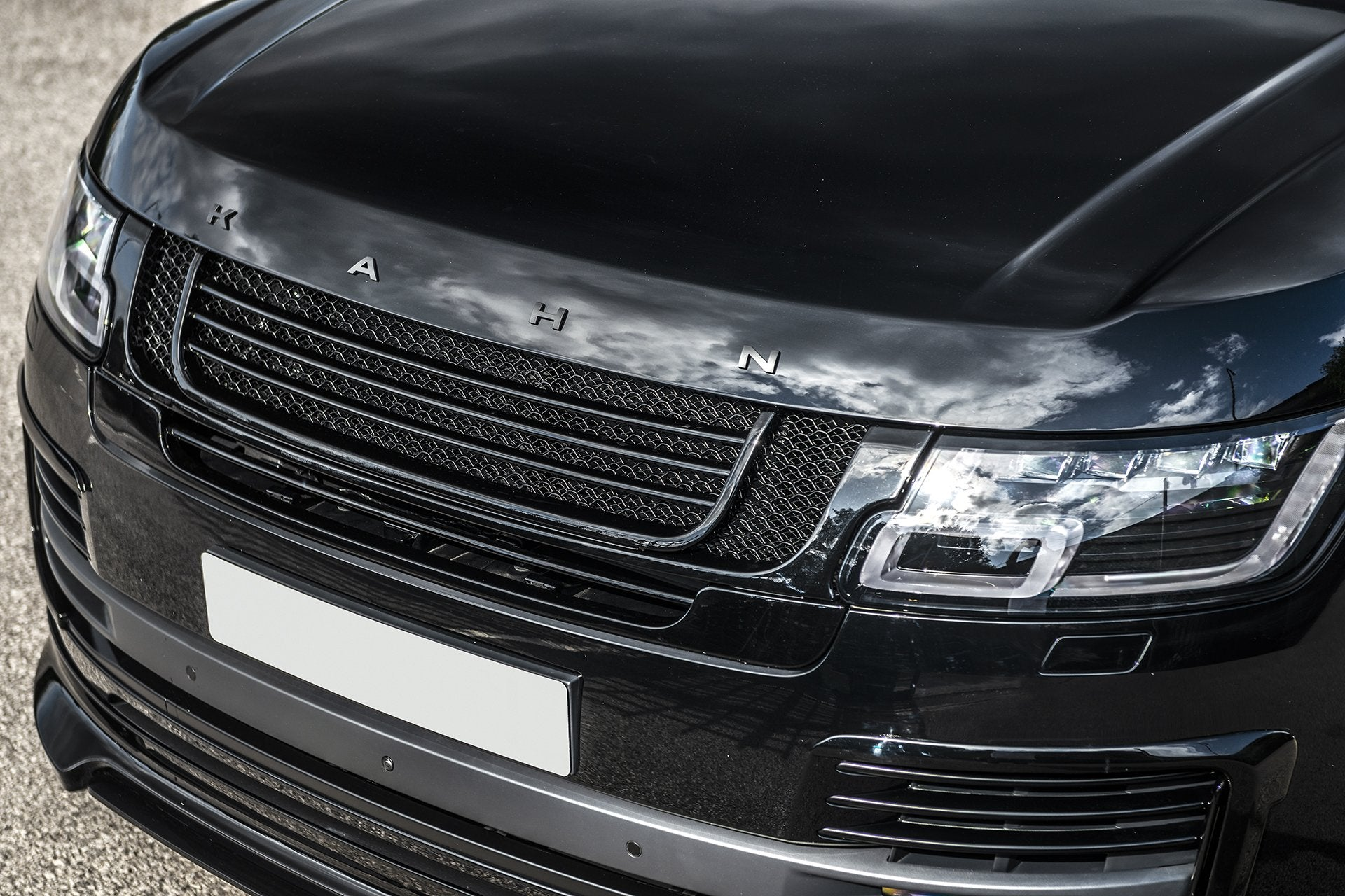 Range Rover (2018-Present) Exposed Carbon Front Grille - Project Kahn